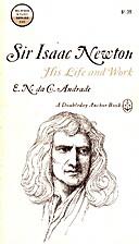 Sir Isaac Newton by Edward Andrade