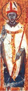 Author photo. Saint Maximus of Turin / Codice della Catena.