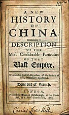 A new history of China Containing a…