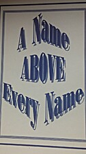 A Name Above Every Name by Thomas L Waters