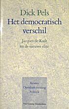Het democratisch verschil : Jacques de Kadt…