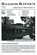 Hallesche Blätter 34.