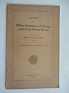 Lectures On Military Sanitation And…
