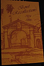 Bowl Recollections 1924-1999