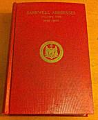 The Barnwell addresses by John Louis Haney