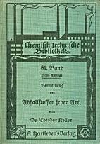Handbuch der rationellen Verwertung,…