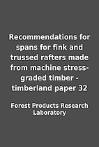 Recommendations for spans for fink and…