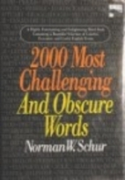 2000 Most Challenging and Obscure Words by…