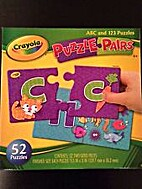 ABC and 123 Puzzles by Crayola