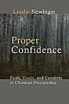 Proper Confidence: Faith, Doubt, and…