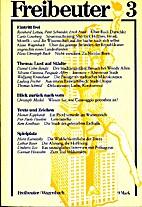 Freibeuter : Vierteljahreszeitschrift für…