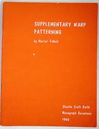 Supplementary Warp Patterning - Shuttle…
