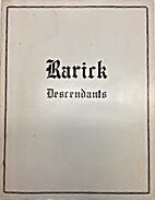 The Genealogical History of Descendants of…