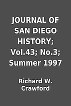 JOURNAL OF SAN DIEGO HISTORY; Vol.43; No.3;…