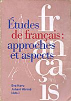 Études de français: Approches et aspects…