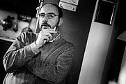 Author photo. Bruno Morchio fotografato da Gianni Ansaldi