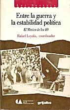 Entre la guerra y la estabilidad política:…