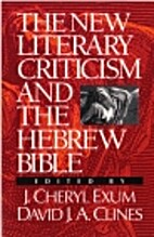 The New Literary Criticism and the Hebrew…