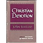 Christian Devotion by John Baillie