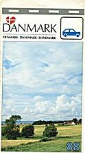 Danmark 88 Map by Geod/Etisk Institut