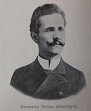 Author photo. From Wiener Schachzeitung 1904