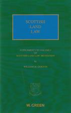Gordon Scottish Land Law Edition 3 Supp by…