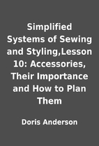 Simplified Systems of Sewing and…