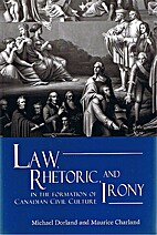 Law, Rhetoric, and Irony in the Formation of…