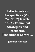 Latin American Perspectives (Vol. 24, No. 2)…