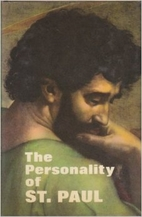 The Personality of St. Paul by Cornelius A.…