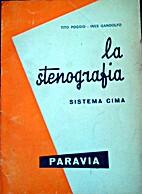 La Stenografia-Sistema Cima by Tito…