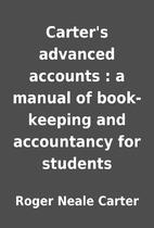 Carter's advanced accounts : a manual of…