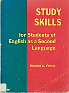 Study Skills for Students of English As a…