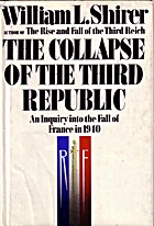 The Collapse of the Third Republic: An…