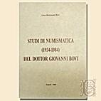 Studi di numismatica (1934-1984) del dottor…