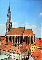 St. Martin Landshut by Prof.Dr.Erich…