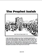 The Prophet Isaiah Volume 1 by Jeff Asher