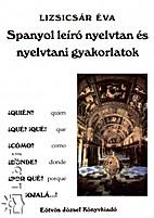 Spanyol leíró nyelvtan és nyelvtani…