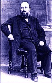 Author photo. William Farr, 1870. Wikipedia.