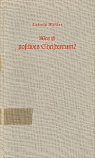 Was ist positives Christentum? by Ludwig…