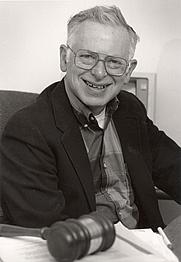 Author photo. Prof. Fred I. Greenstein (photo courtesy of Princeton University)