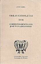 OBRAS COMPLETAS XVII CORRESPONDENCIA CON…