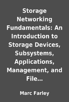 Storage Networking Fundamentals: An…