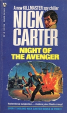 Night of the Avenger by Nick Carter