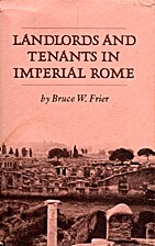 Landlords and tenants in imperial Rome by…