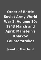 Order of Battle Soviet Army World War 2,…