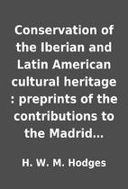 Conservation of the Iberian and Latin…