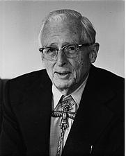 Author photo. Portrait provided by Donald Menzel's daughter, Elizabeth Menzel Davis