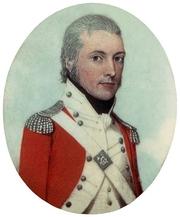 Author photo. Portrait of Captain Watkin Tench