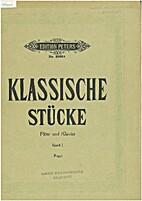 Klassische stücke band I by Wilhelm Popp.